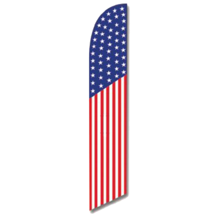 Flags banner png. American flag swooper usa