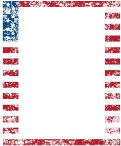 American clipart borders. Free gift with this