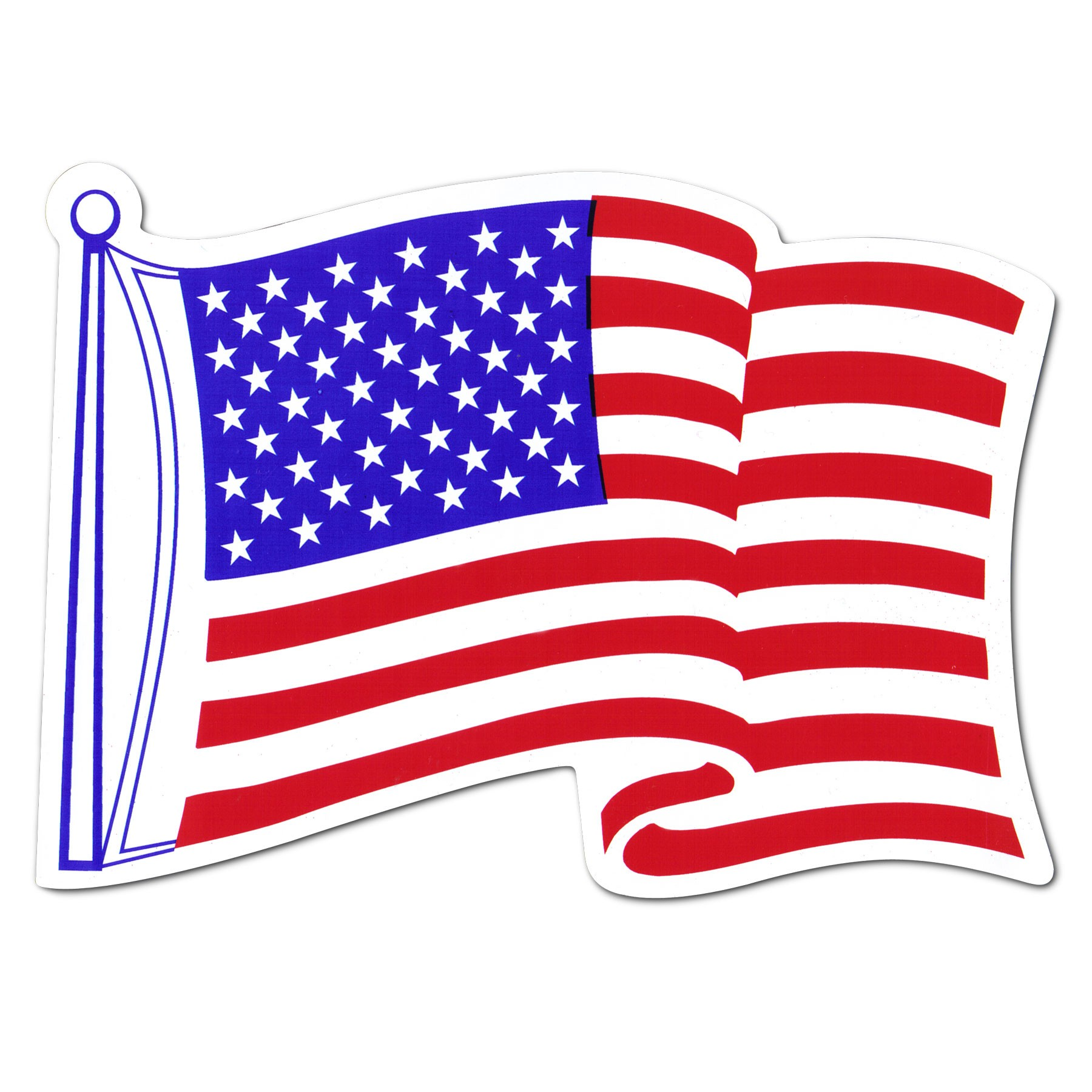 American clipart flying. Flag