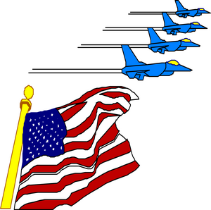 American clipart flying. Free patriotic clip art