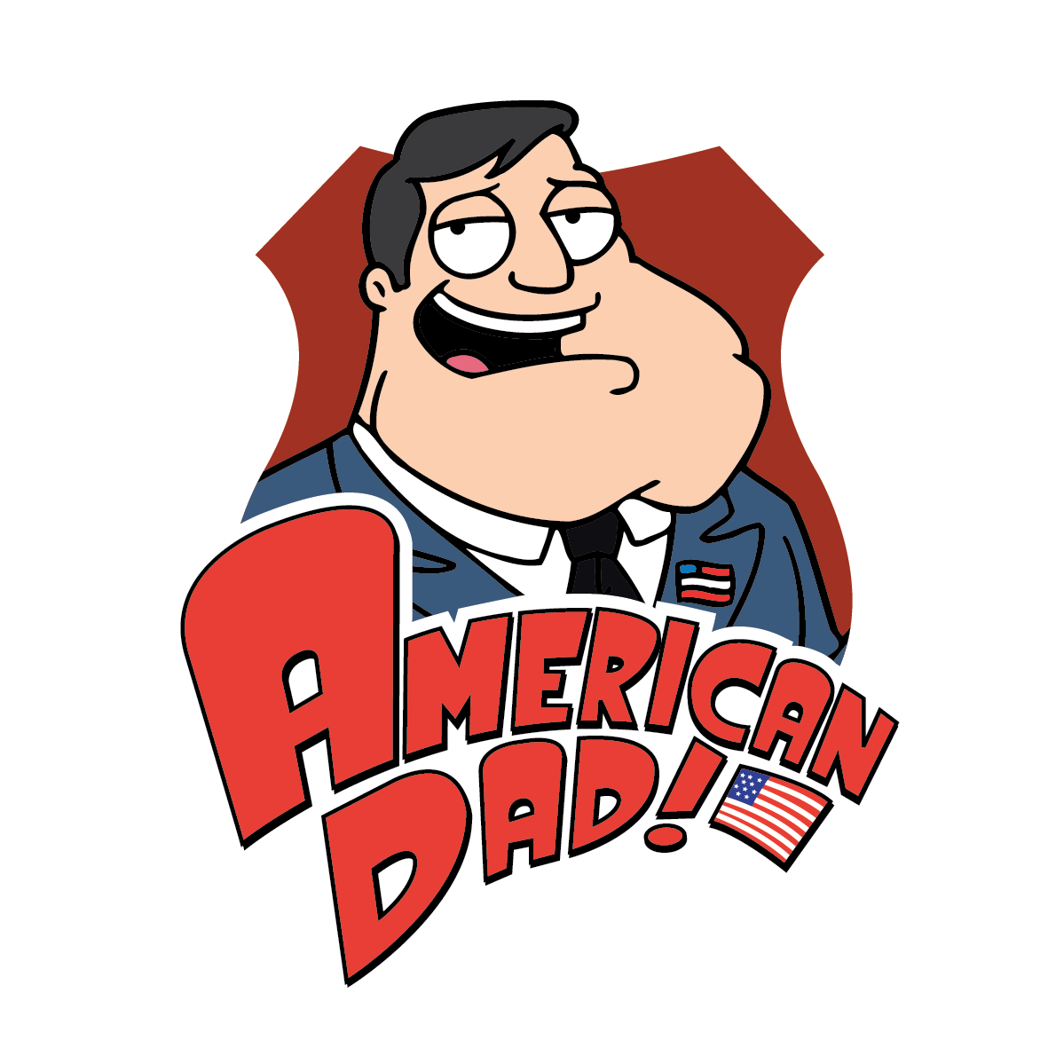 American dad logo png. Clipart for u