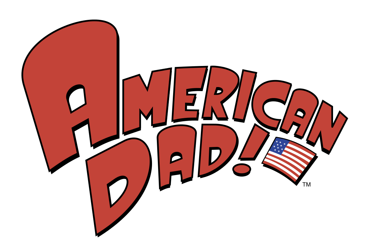 American dad png. Image logo english international