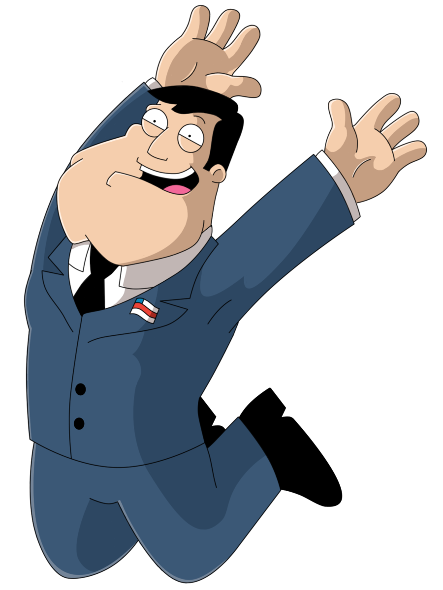American dad roger head png. Good morning usa by