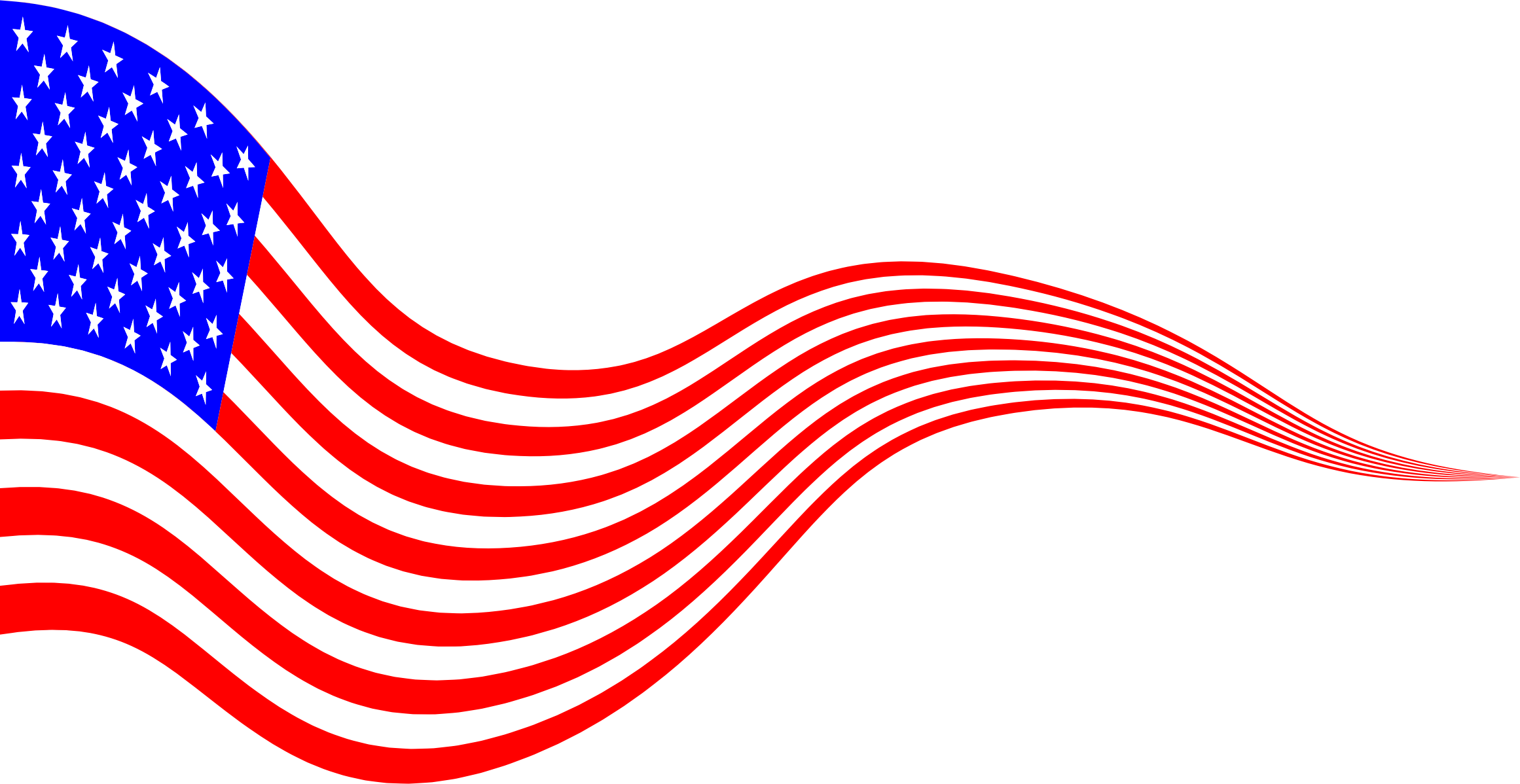 American flag banner png. Wavy usa icons free