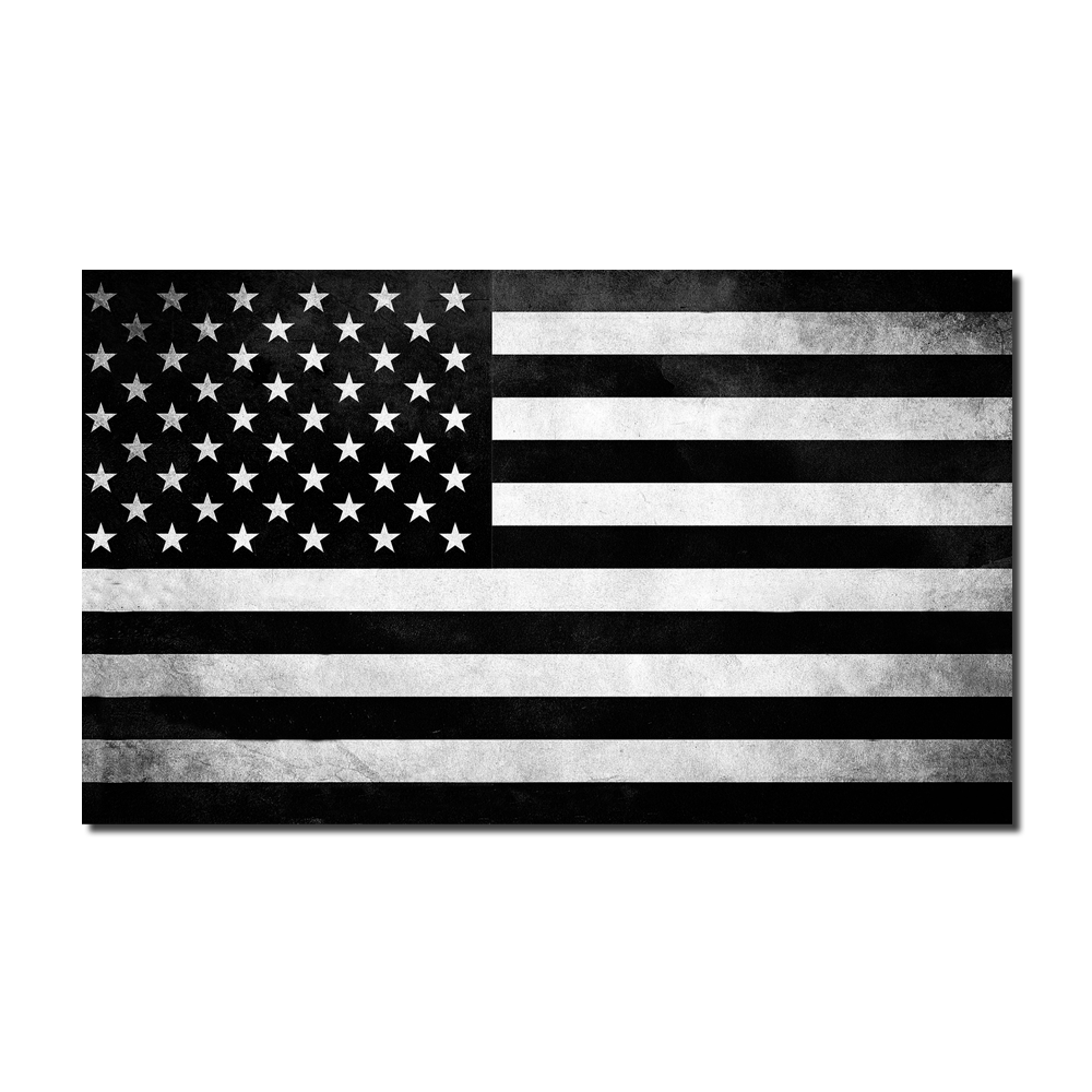 American flag black and white png. Tactical decal warrior
