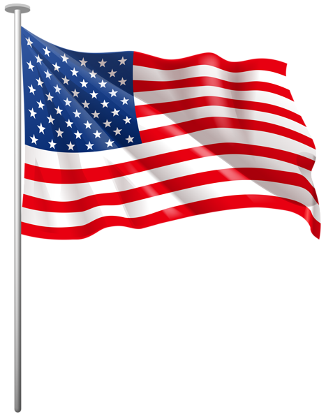 usa flag pole png