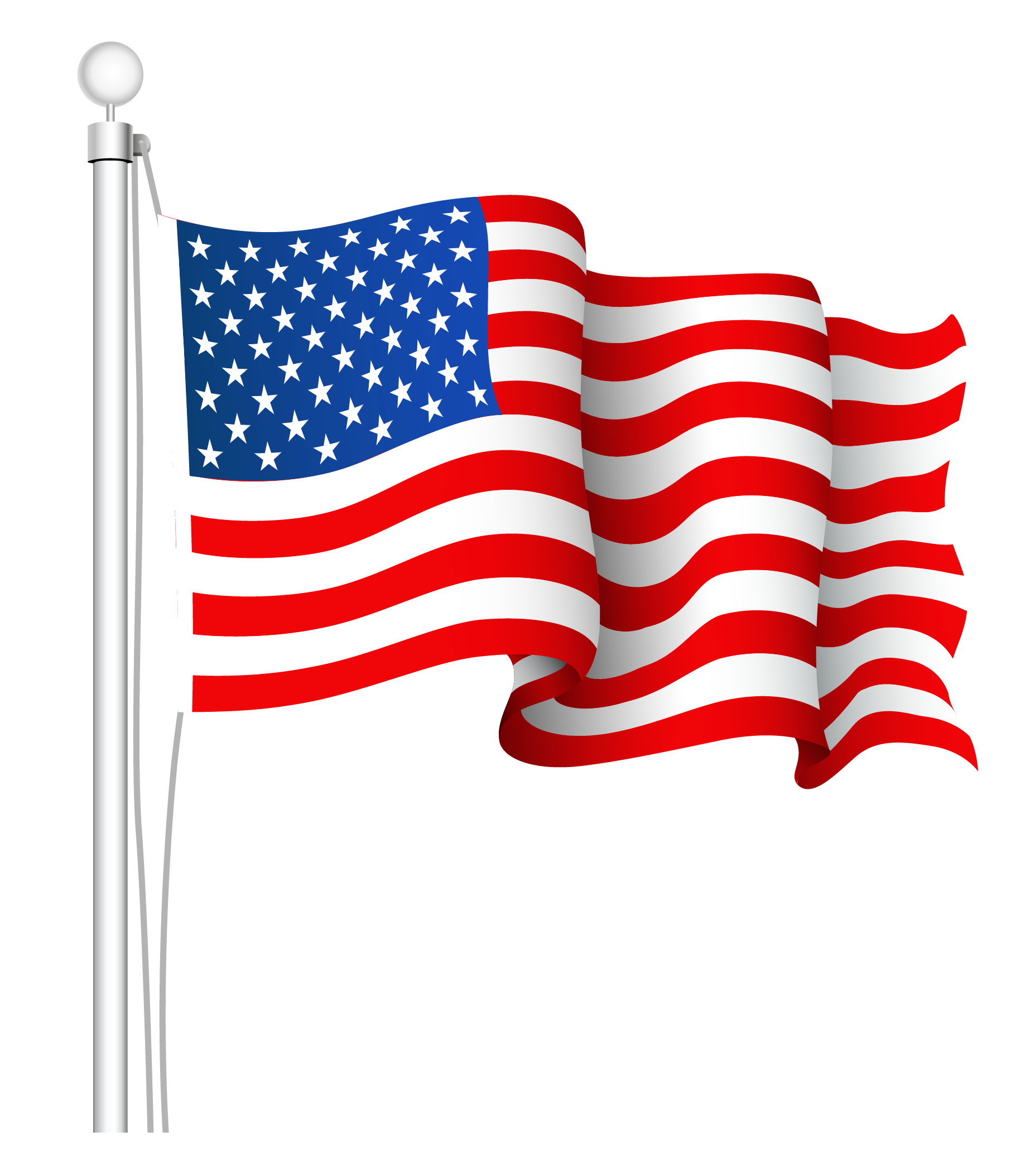 American flag clip art png. United states clipart picture