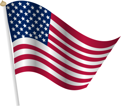 American flag clipart png. Download free transparent image