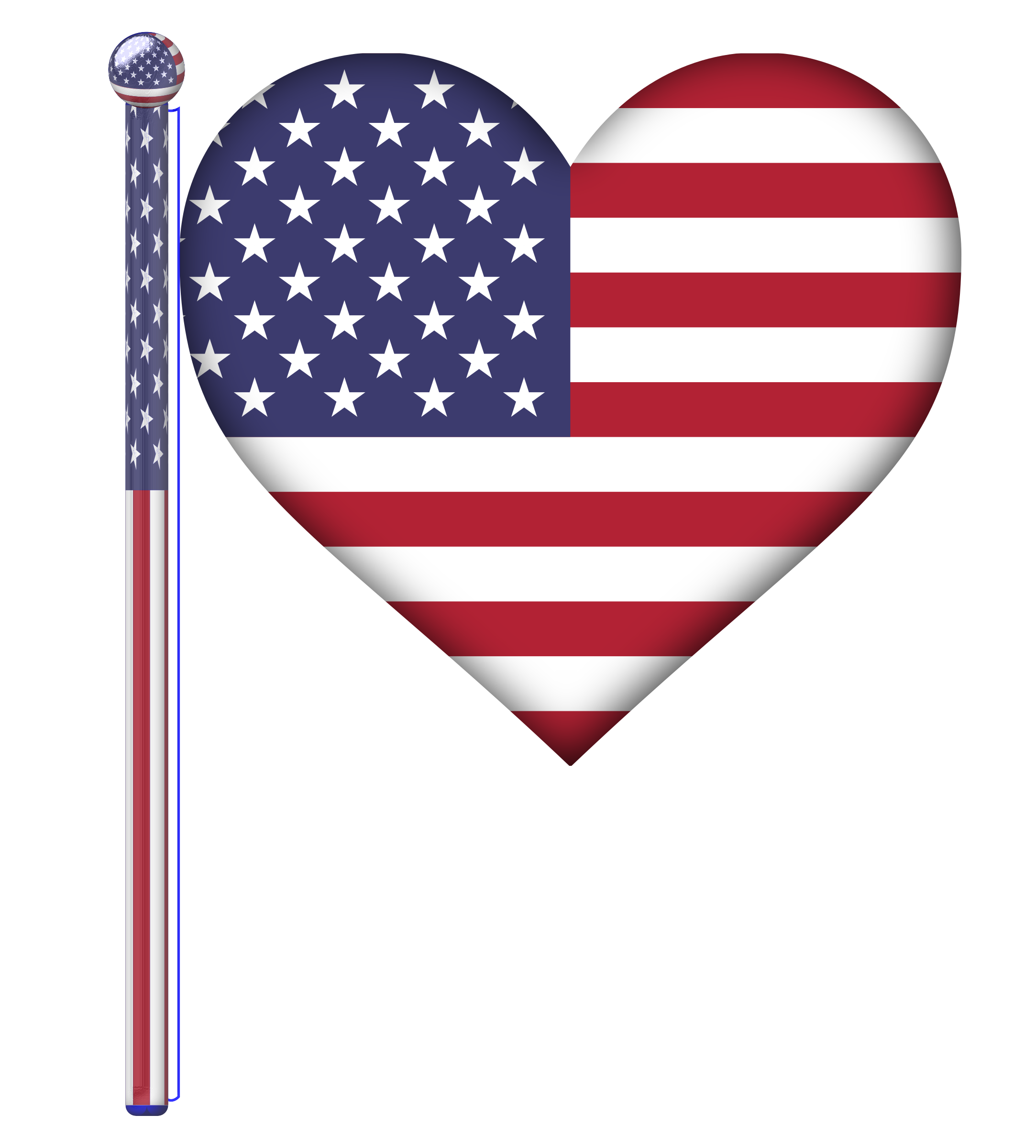 svg flags heart