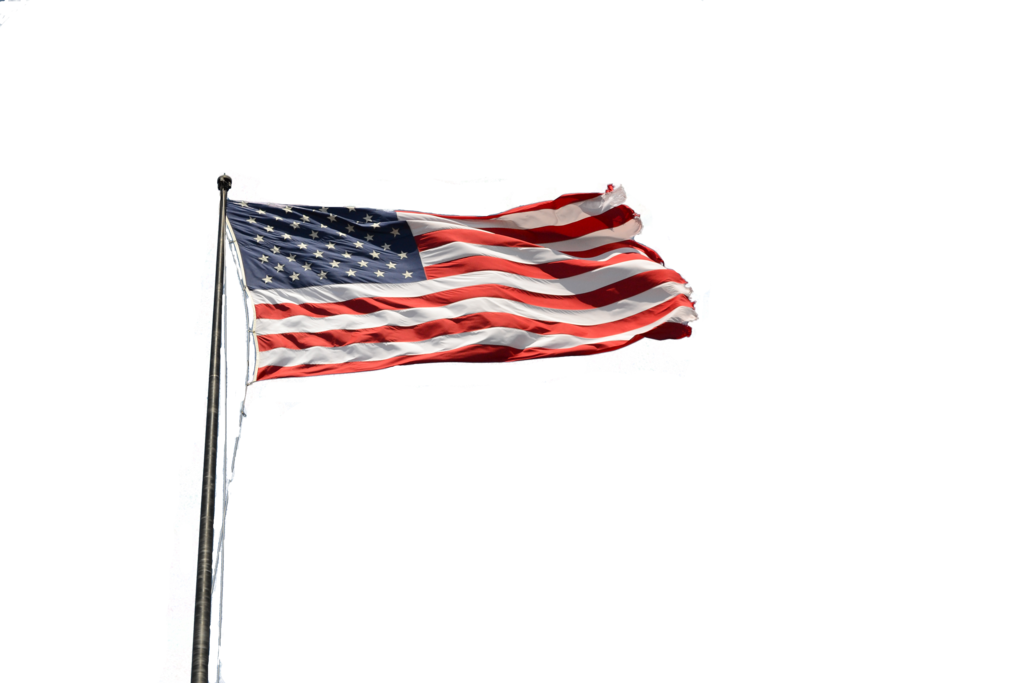 American flag on pole png. By kclemas deviantart