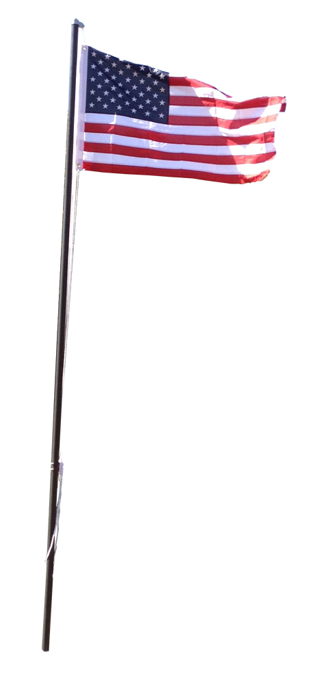 flagpole clip light pole