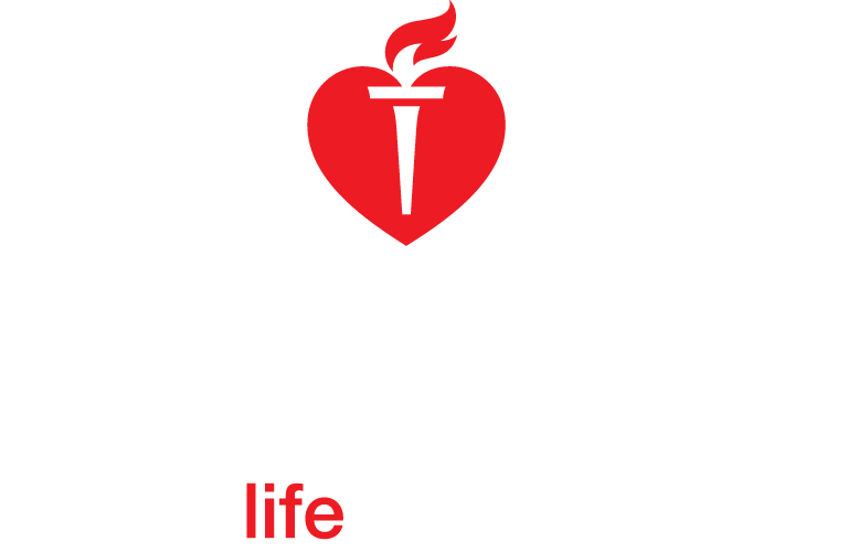 American heart association logo png. One car helps the