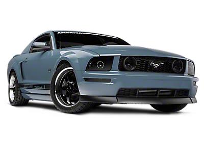 Vector mustang white stripe. Parts accessories americanmuscle