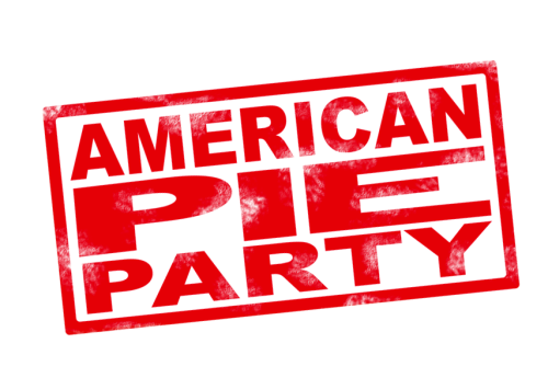American pie logo png. Party strobestaff