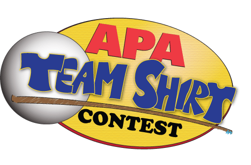 American pool players logo png. Team shirt contest open