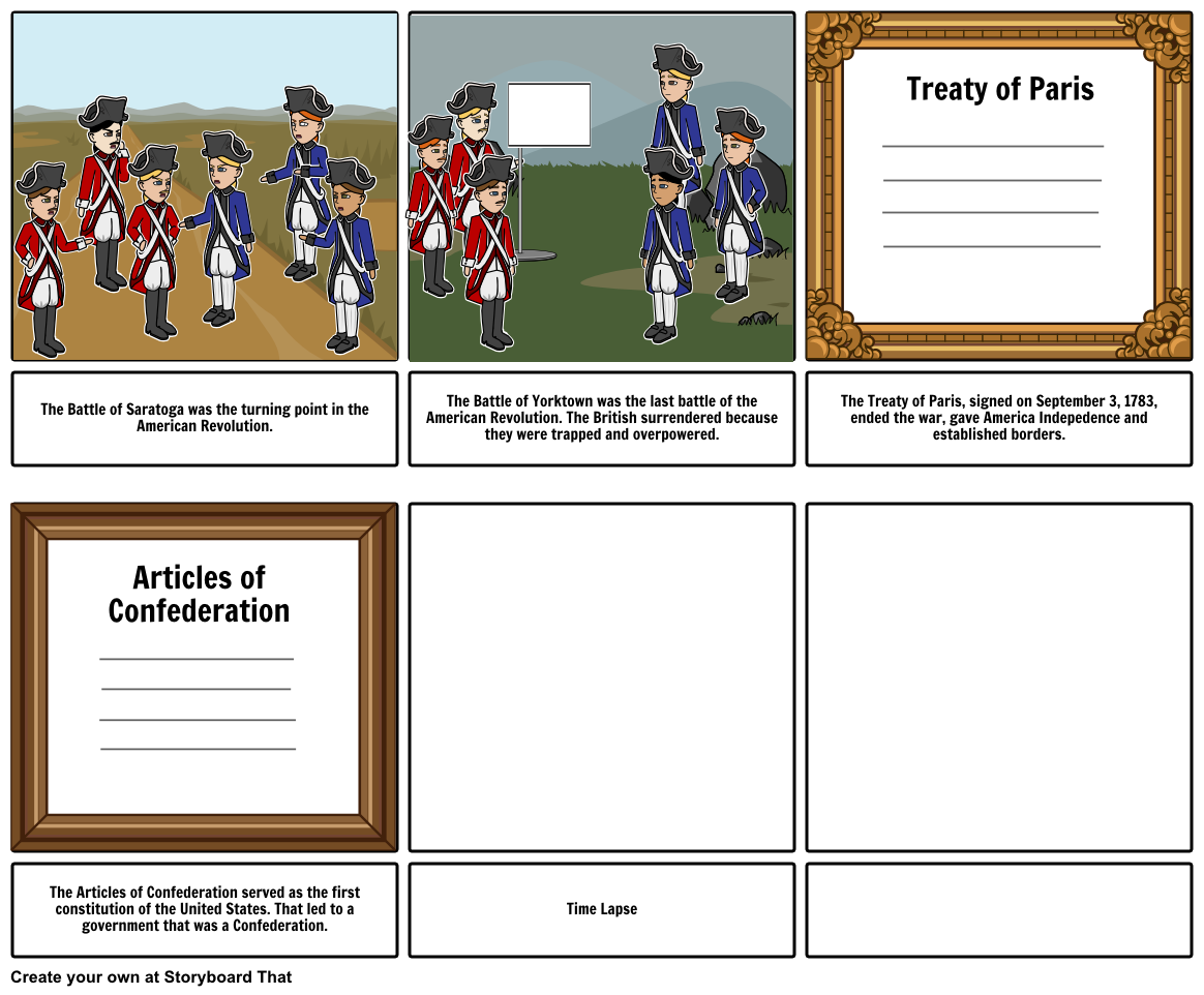 American revolution clipart article confederation. Storyboard by maddysetterington