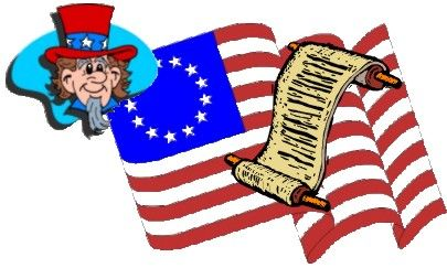 American revolution clipart constitution us. Congress for kids independence