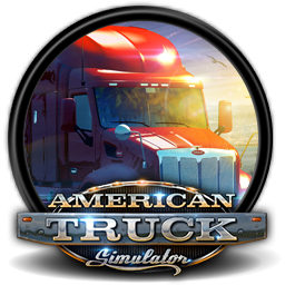American truck simulator logo png. Icon by blagoicons on