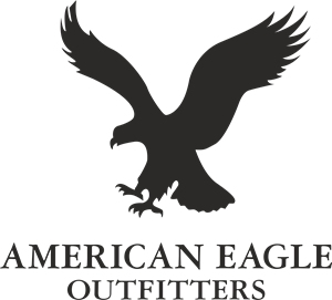 American vector eagle. Outfitters logo eps free