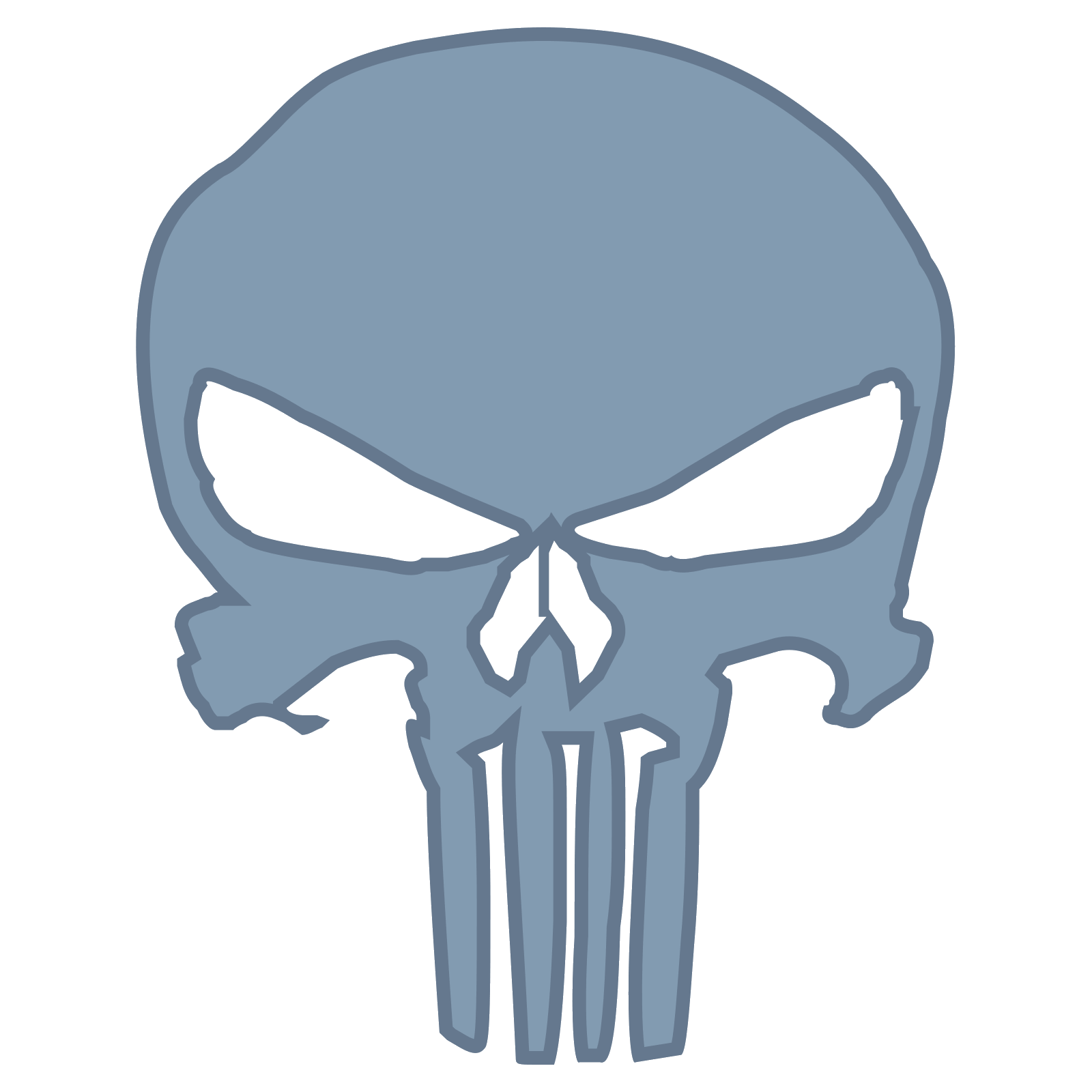 American vector punisher. Icono descarga gratuita png