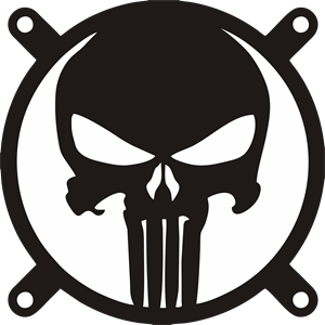 American vector punisher. The logo eps free