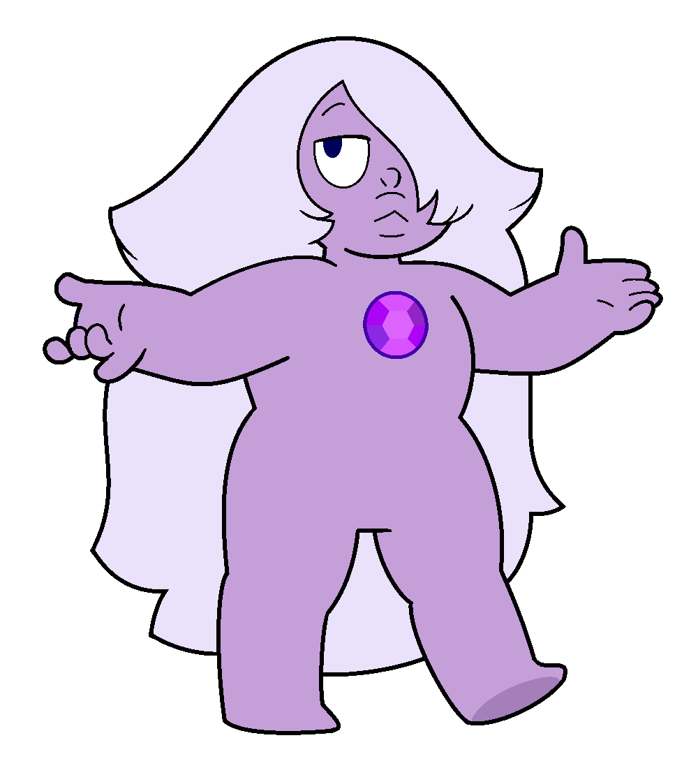 Amethyst transparent base. Image png by adi