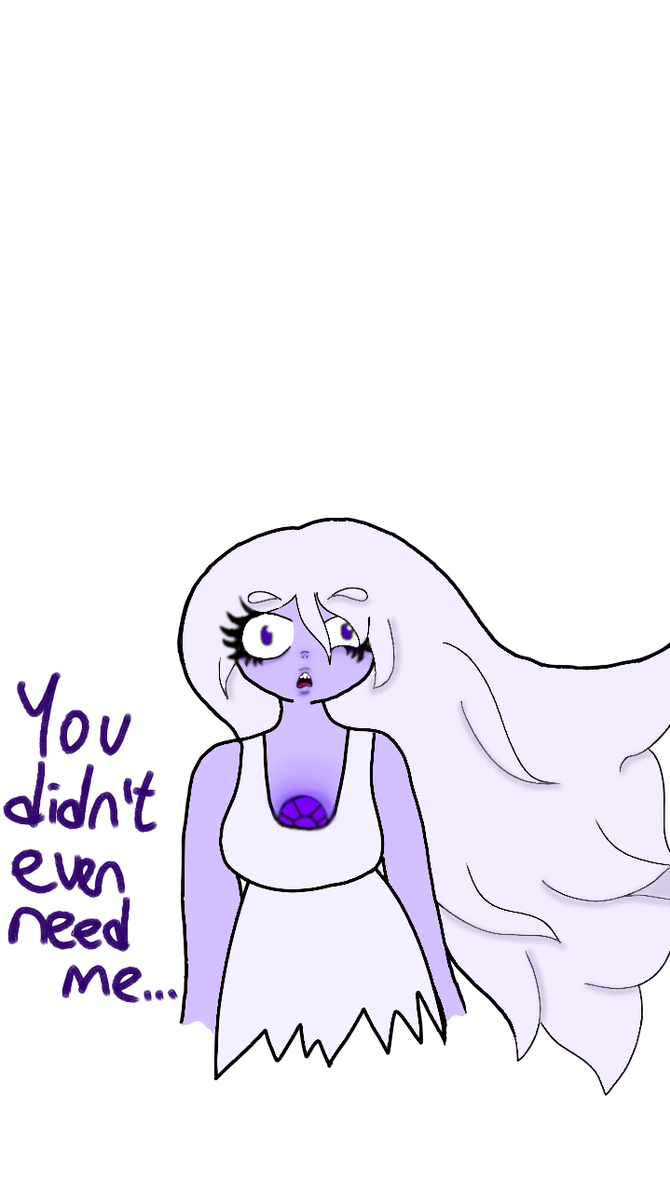 Amethyst transparent drawing. Old crack the whip
