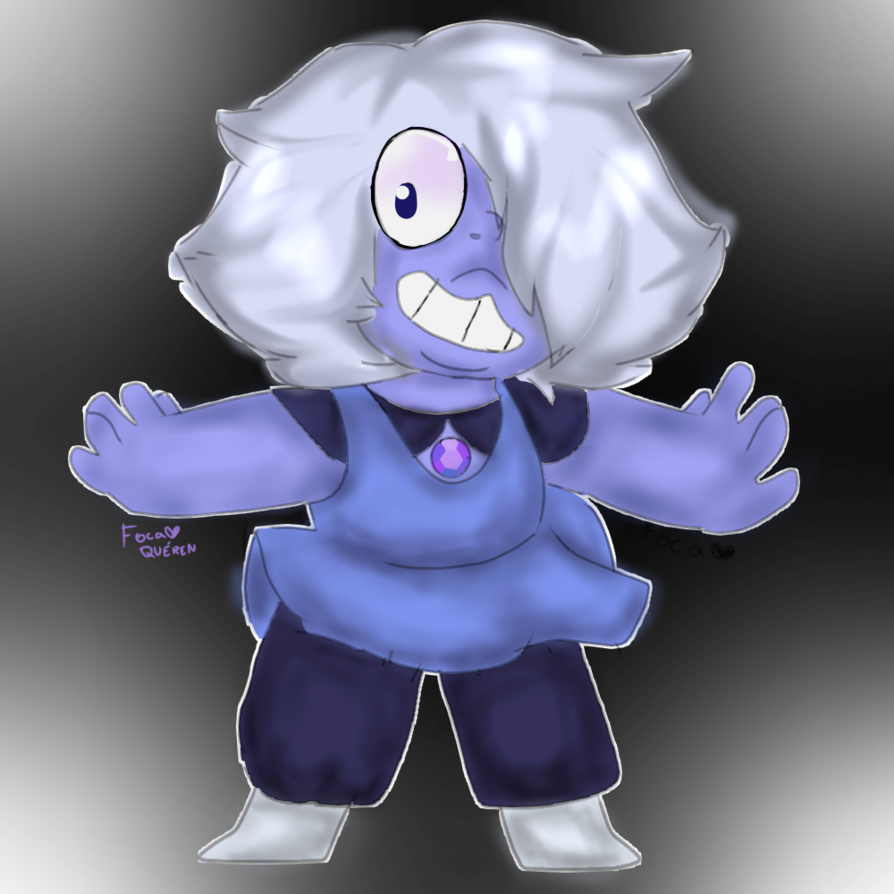 Amethyst transparent kid. I love the by