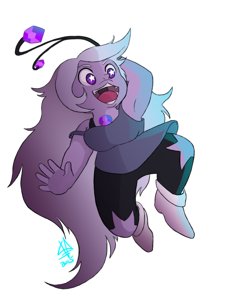 Amethyst transparent kid. Kindergarten by abstractmouse on