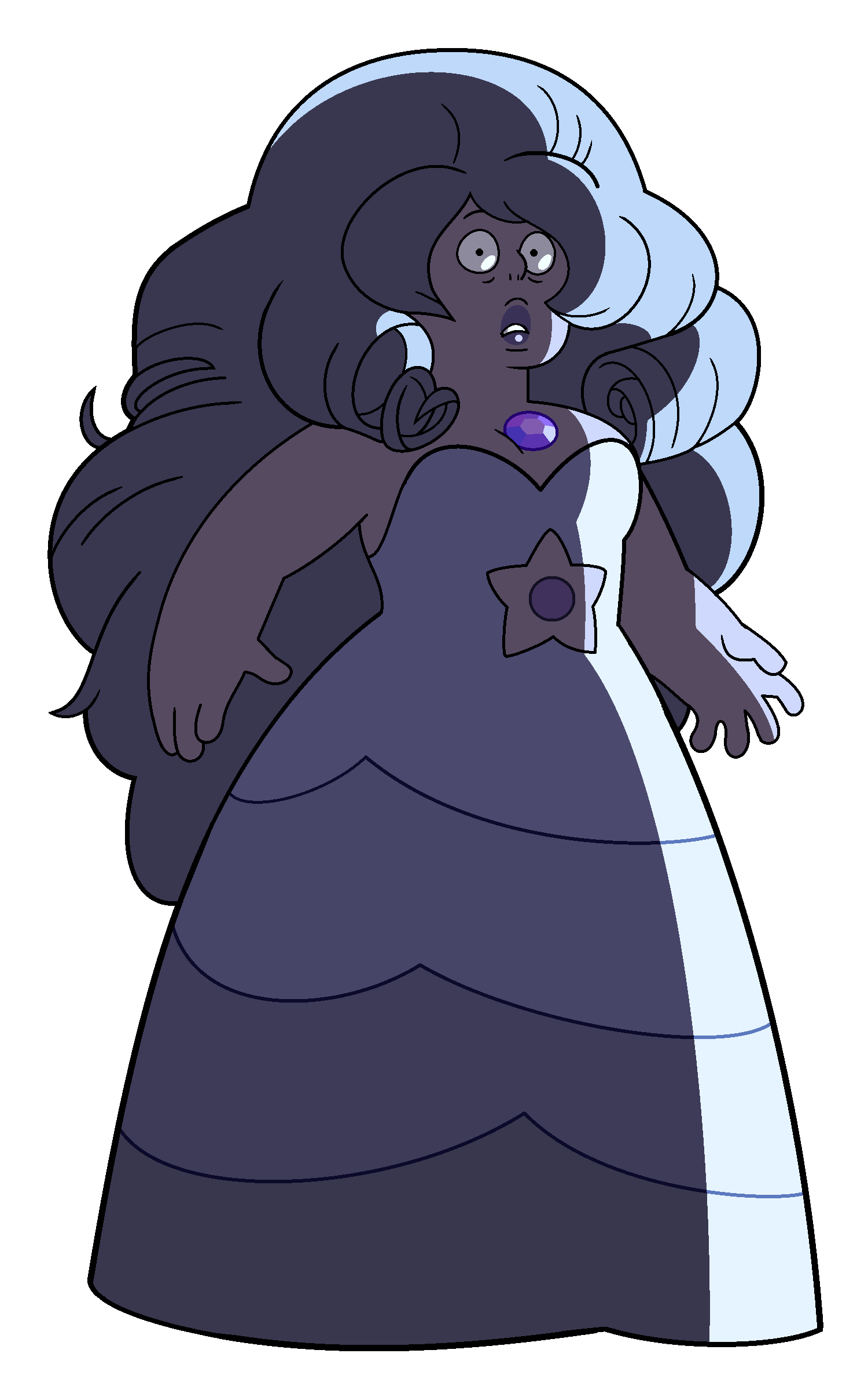 Amethyst transparent new design. Image as rose png
