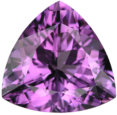 Amethyst transparent violet. Jewel of africa