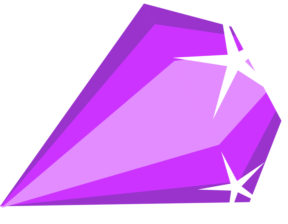 Amethyst vector crystal. Gemstone computer icons purple