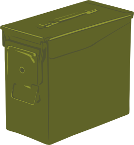 Ammo vector. Can clip art at