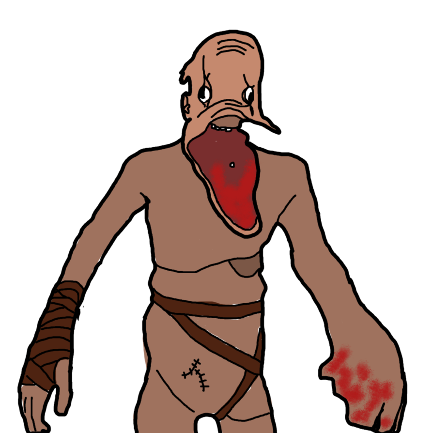 Amnesia monster png. Drawed in g i