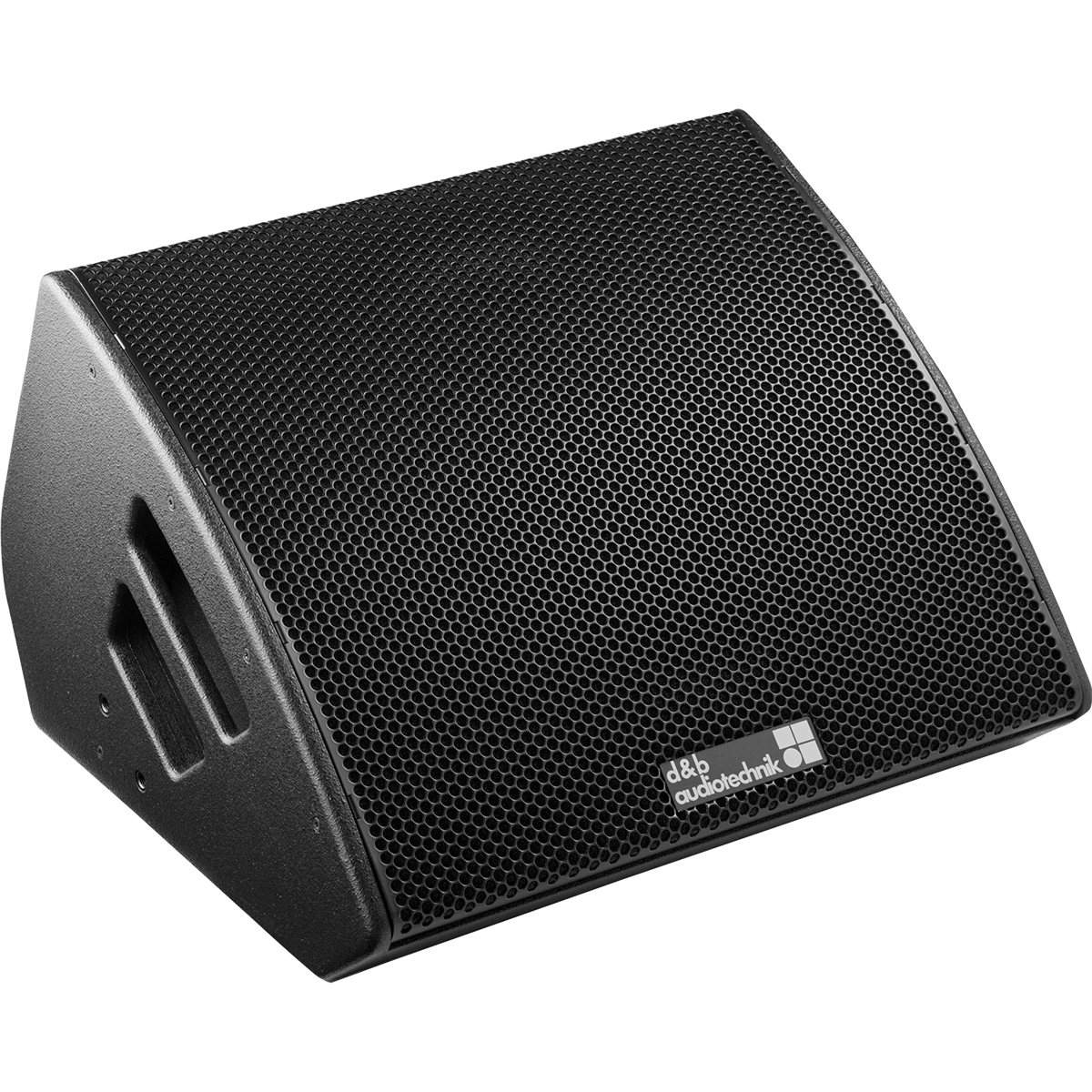 Speaker transparent stage. M monitor from our