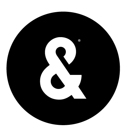 Ampersand logo png. Pizza style guide