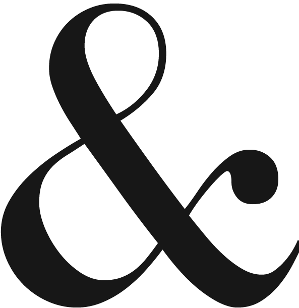 Fancy ampersand png. Distilling company