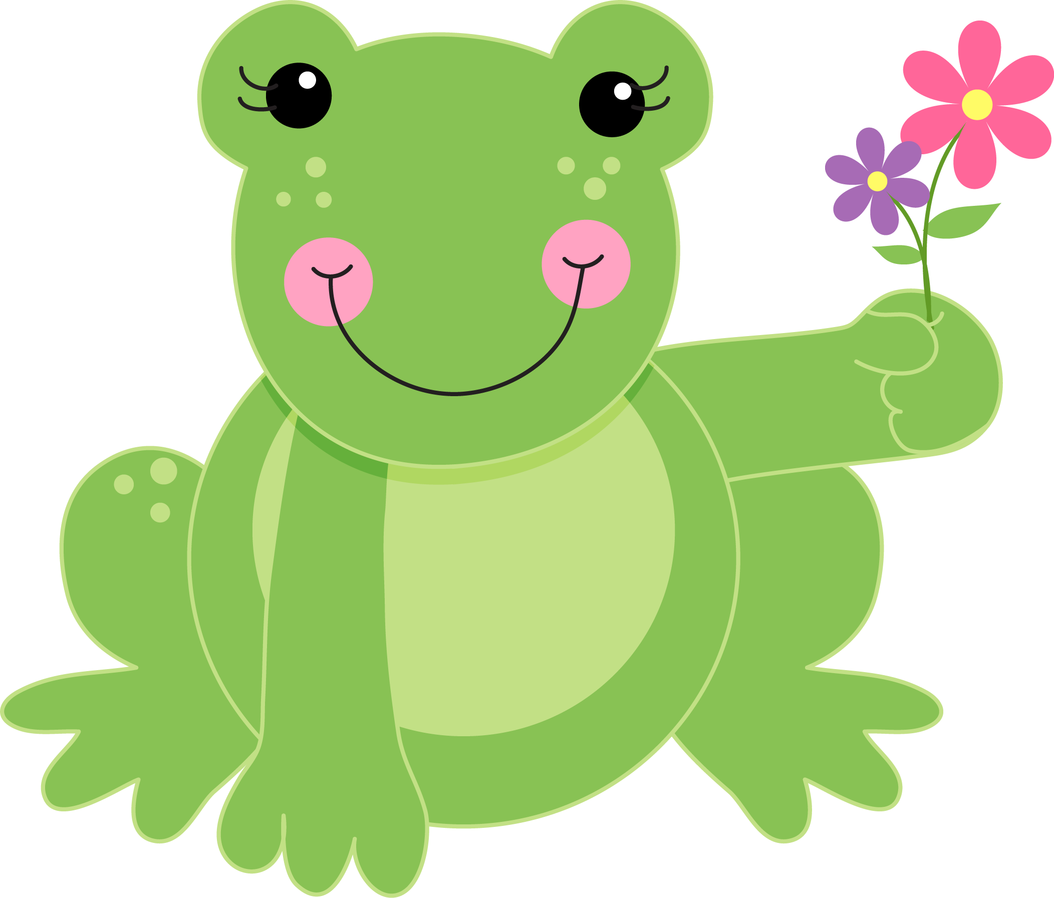 Amphibians drawing small. Collection of free amphibia