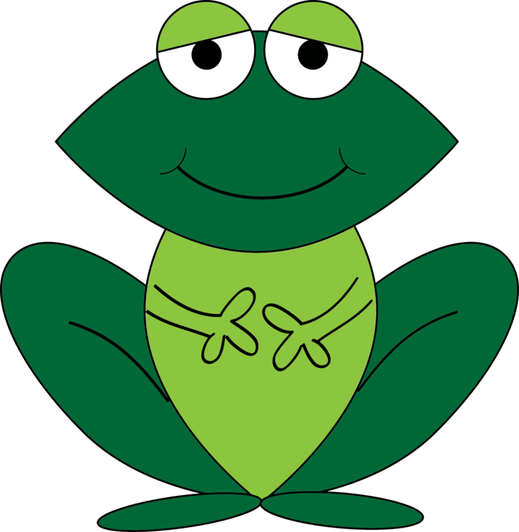 Amphibian drawing cartoon. Free commercial clipart frog