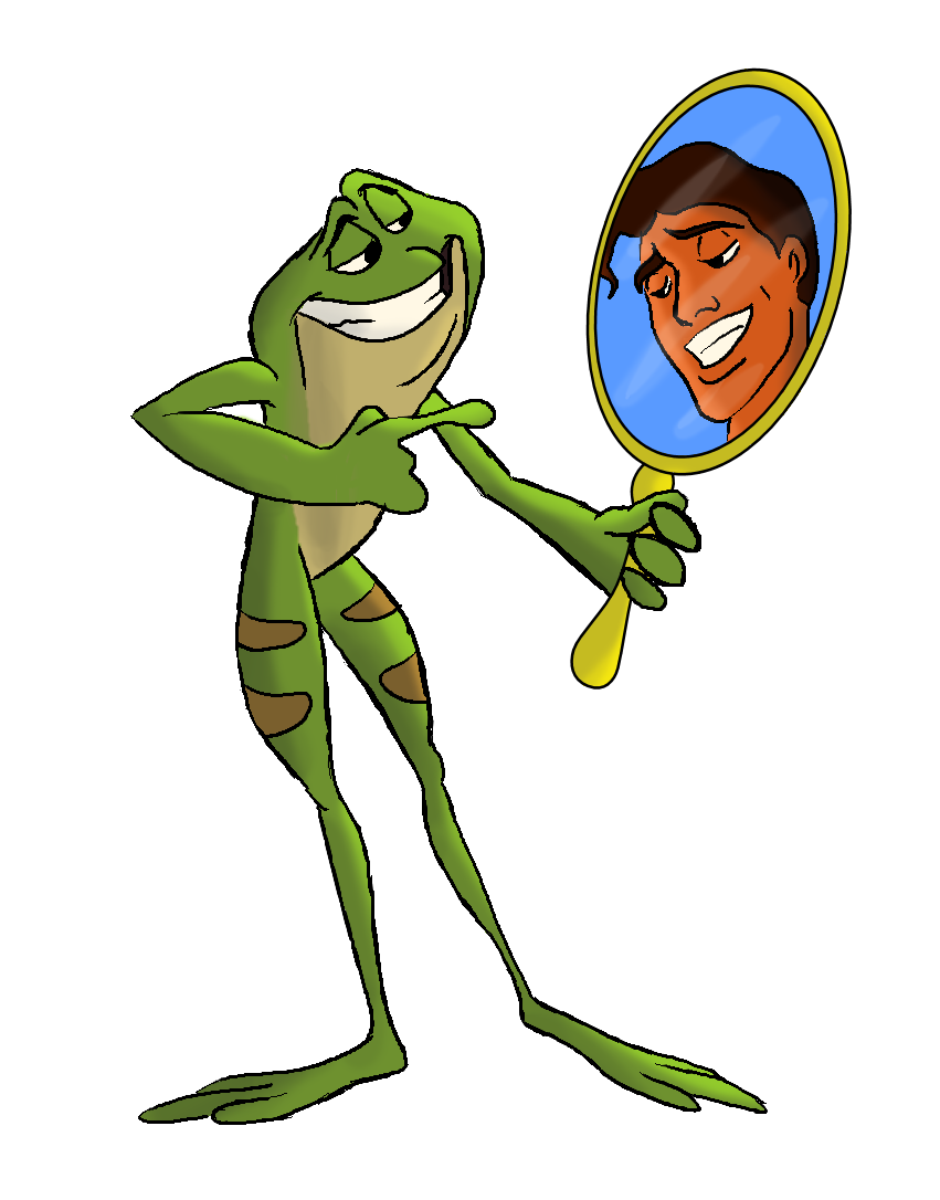 Amphibian drawing princess and the frog. Naveen naveenthe