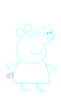 Amphibian drawing step by. How to draw peppa