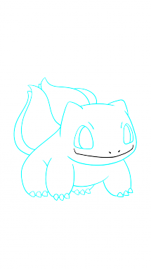 Amphibian drawing step by. How to draw bulbasaur