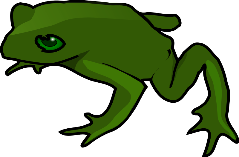 Frogs drawing easy. Free simple green frog