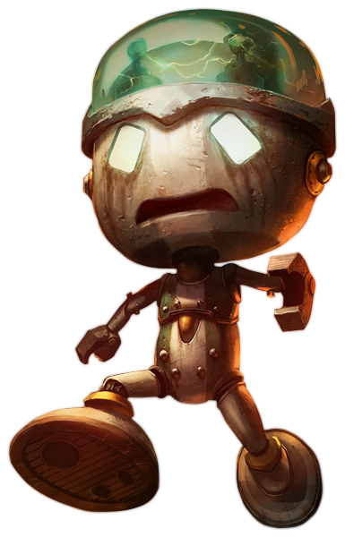 Amumu drawing sad. Robot