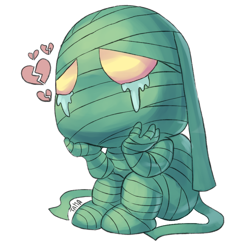 Amumu drawing. By ff cc on
