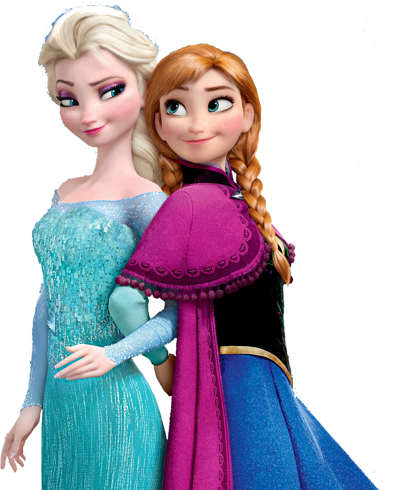 Ana and elsa png. Hermanas by zenapatch frozen