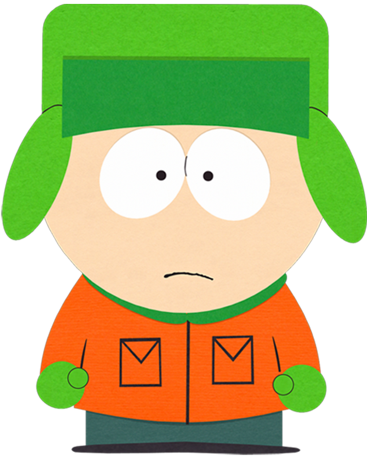 character transparent south park