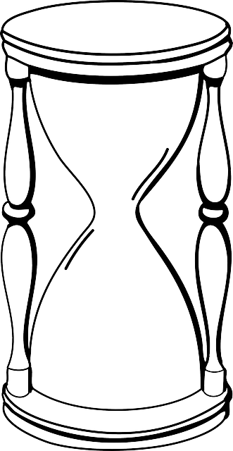 Hourglass clock at getdrawings. Idea drawing sketches vector free