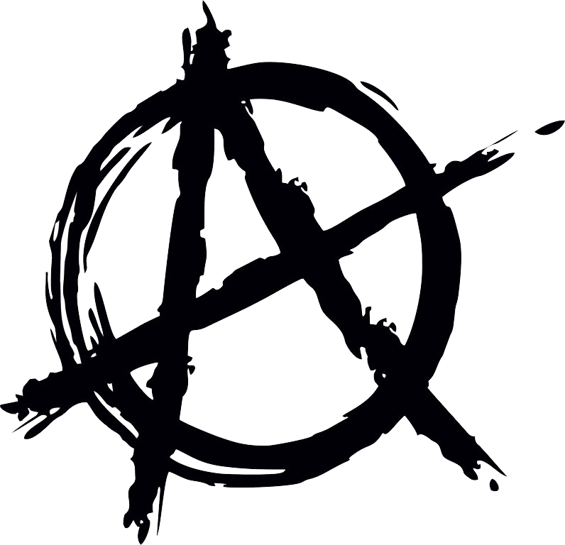 Anarchy a png. Logo symbol free download
