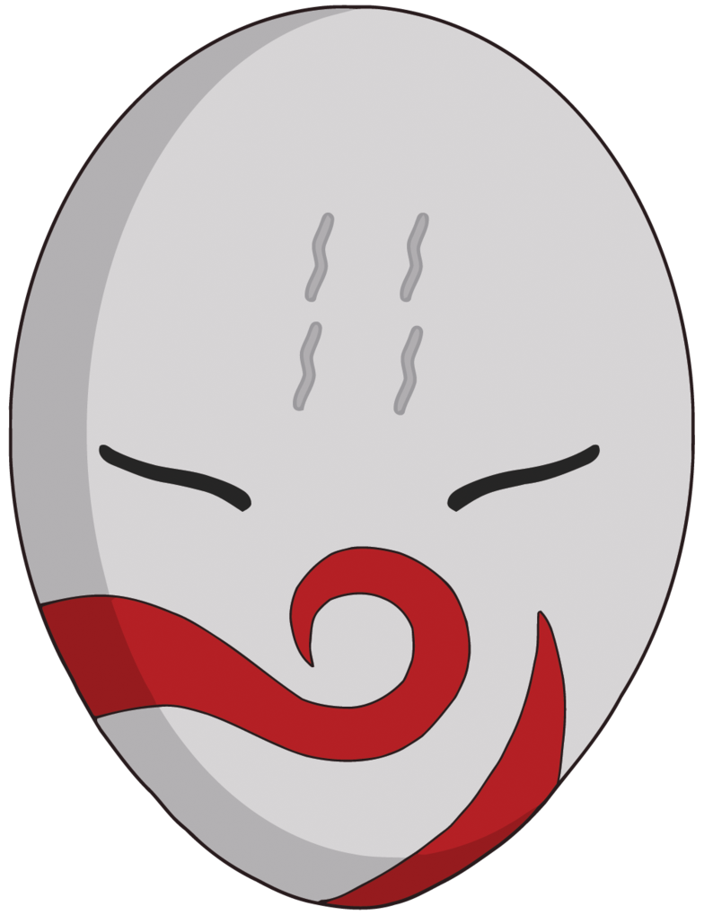 Anbu mask png. Haku for cash shop